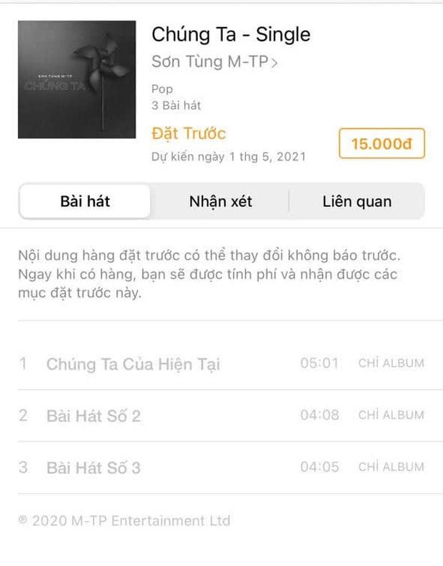 Sơn Tùng M-TP thay đổi kế hoạch, album Chúng Ta bị lùi thời điểm ra mắt sau 1 tháng? - Ảnh 3.