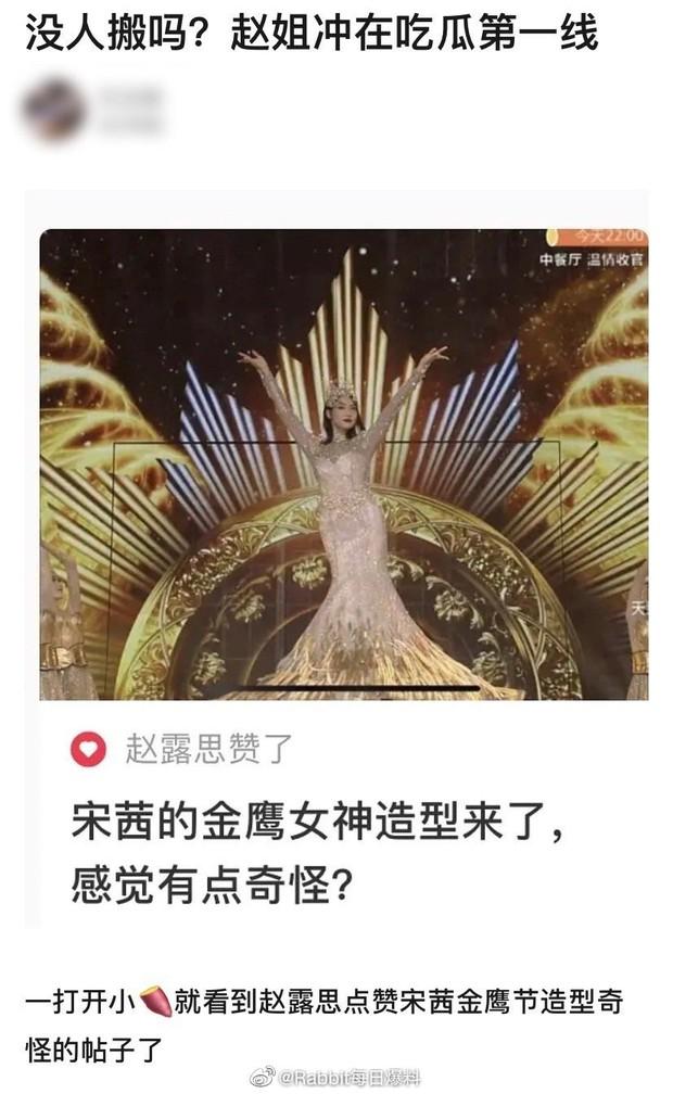 Thánh trà xanh Triệu Lộ Tư lại dính phốt: Vô tư chê bai Cúc Tịnh Y - Ngô Tuyên Nghi, ai ngờ bị netizen bắt quả tang - Ảnh 6.