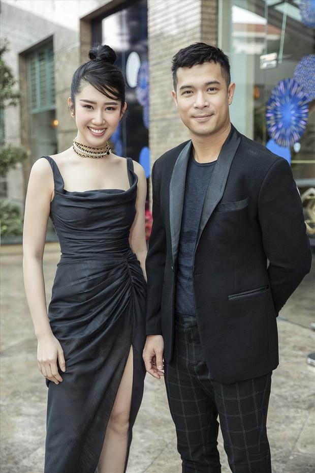 Trương Thế Vinh - Thúy Ngân tạo dáng thân mật, fan lại được dịp đẩy thuyền cho Running Man Việt - Ảnh 4.