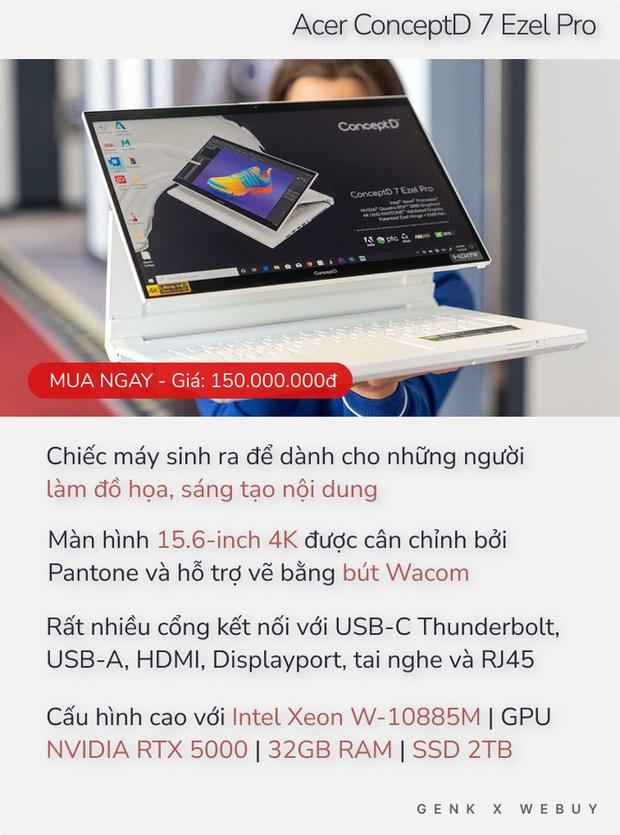 5 laptop giá bán lên tới 150 triệu, không có gì để chê dành cho những người không có gì ngoài điều kiện - Ảnh 9.
