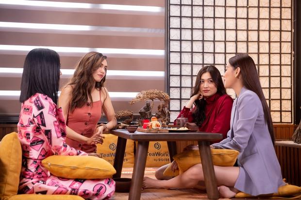 Khánh Vân được đàn chị dặn đề phòng vì có thể bị chơi xấu ở Miss Universe - Ảnh 5.