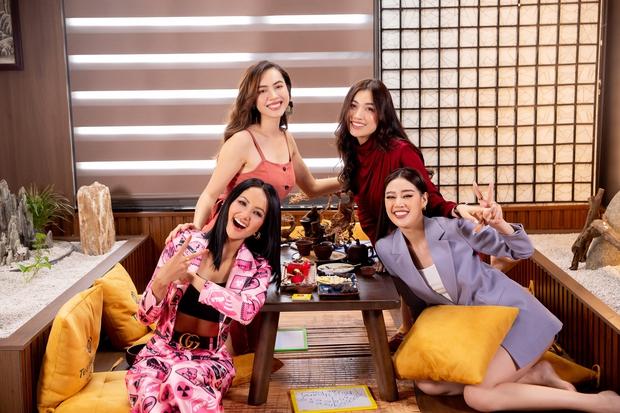 Khánh Vân được đàn chị dặn đề phòng vì có thể bị chơi xấu ở Miss Universe - Ảnh 2.
