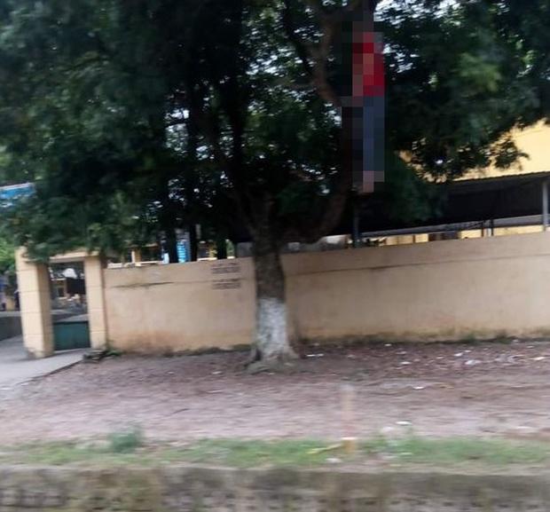 Hòa Bình: Làm rõ vụ người đàn ông tử vong trong tư thế treo cổ gần trường học - Ảnh 1.