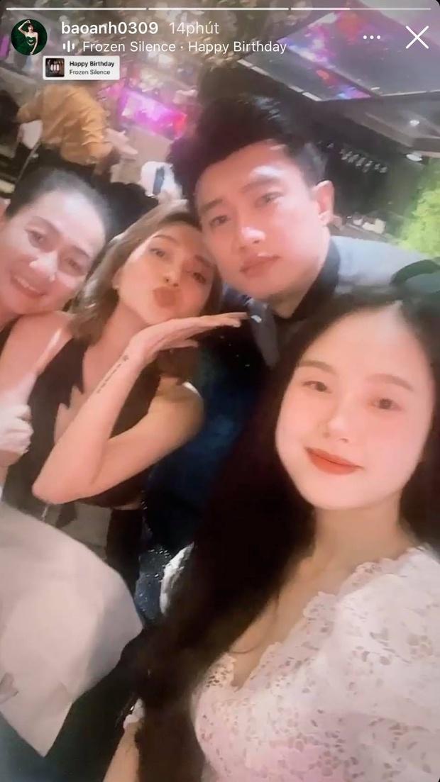 Vừa bị bắt gặp hẹn hò Minh Hằng, Quốc Trường lại đưa Bảo Anh ra mắt mẹ ruột? - Ảnh 3.