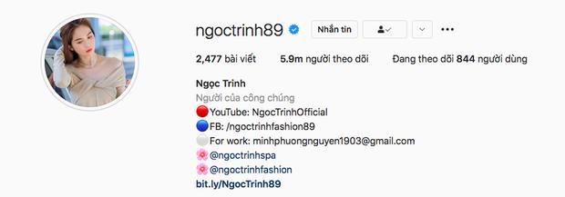 Top 5 người có lượng follow khủng nhất Instagram Việt: Ngọc Trinh rất hot nhưng chỉ đứng 2, ai mới là người đầu bảng? - Ảnh 2.