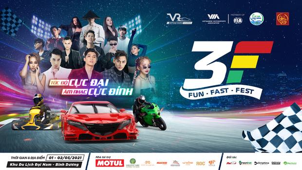 Quẩy cùng Fun Fast Fest - Đại lễ hội tốc độ cực đại và âm nhạc cực đỉnh tại Bình Dương ngày 1 - 2/5 tới - Ảnh 2.