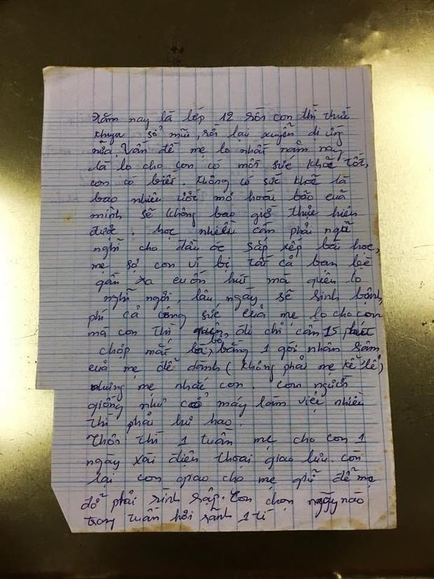 Con gái có người yêu khi học lớp 12, người mẹ viết tâm thư, đọc mấy câu cuối mà không kìm được nước mắt - Ảnh 1.