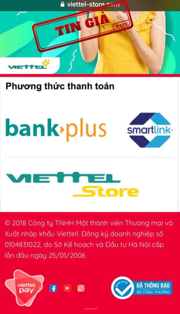 Giả mạo website của Viettel để rao bán SIM 4G - Ảnh 2.