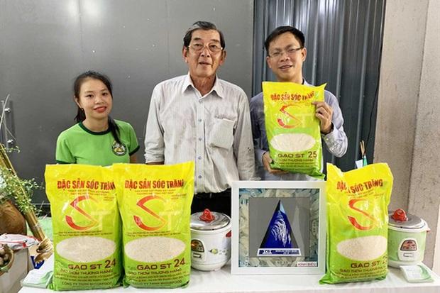 Bất kỳ ai, kể cả Doanh nghiệp tư nhân Hồ Quang Trí cũng không thể được bảo hộ độc quyền dấu hiệu ST25 cho sản phẩm gạo (Ảnh: Vietnamnet)
