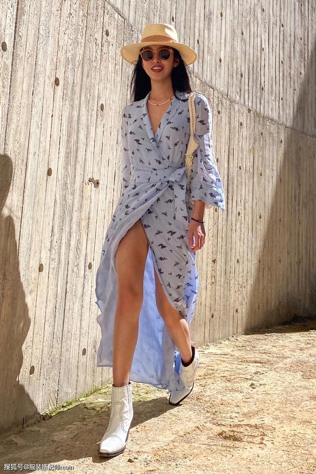 Váy quấn hack dáng vi diệu lắm, nhưng nếu không biết chiêu mặc đẹp này từ gái Pháp thì chưa 100% duyên dáng rồi! - Ảnh 11.