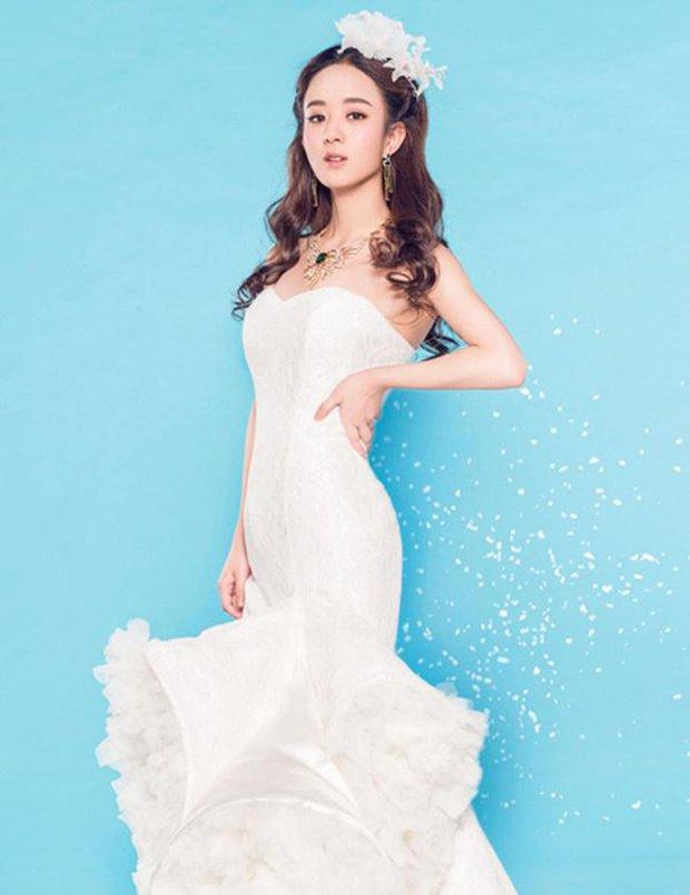 Triệu Lệ Dĩnh chia tay Phùng Thiệu Phong: Dân tình xót xa thay vì cô vẫn chưa khoác lên mình chiếc váy cưới đúng nghĩa - Ảnh 6.