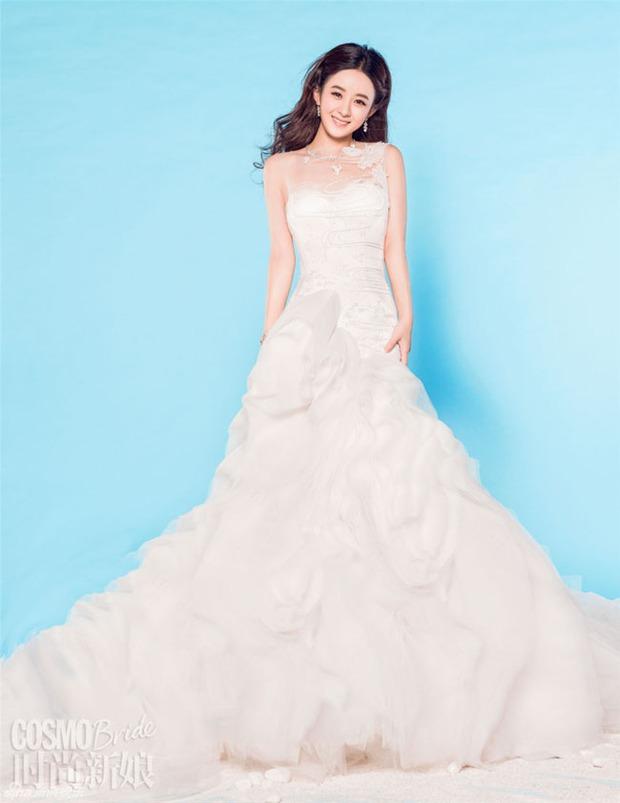 Triệu Lệ Dĩnh chia tay Phùng Thiệu Phong: Dân tình xót xa thay vì cô vẫn chưa khoác lên mình chiếc váy cưới đúng nghĩa - Ảnh 7.