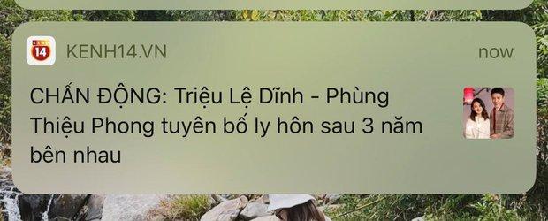 CHẤN ĐỘNG: Triệu Lệ Dĩnh - Phùng Thiệu Phong tuyên bố ly hôn sau 3 năm bên nhau - Ảnh 4.