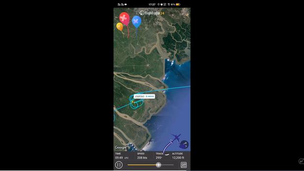 Chuyến bay VNA đánh võng vòng vèo từ Cà Mau về Sài Gòn nhận triệu lượt xem trên MXH - Ảnh 2.