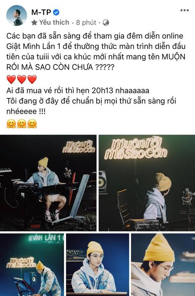 HOT: Những hình ảnh đầu tiên của Sơn Tùng M-TP ngay trước thềm show comeback, chốt lại là đẹp trai quá! - Ảnh 1.