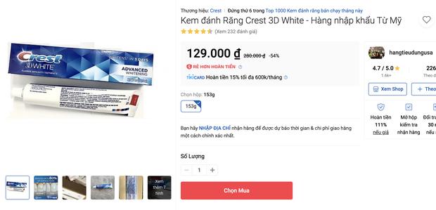 """Tổng hợp sản phẩm làm trắng răng giá rẻ nhưng cực hiệu quả, nhiều loại còn đang sale rất """"ác"""" - Ảnh 9."""