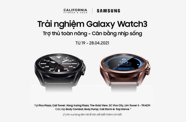 Tối ưu năng suất tập luyện với Samsung Watch3 khi tham gia khóa Group X tại California Fitness Center - Ảnh 4.