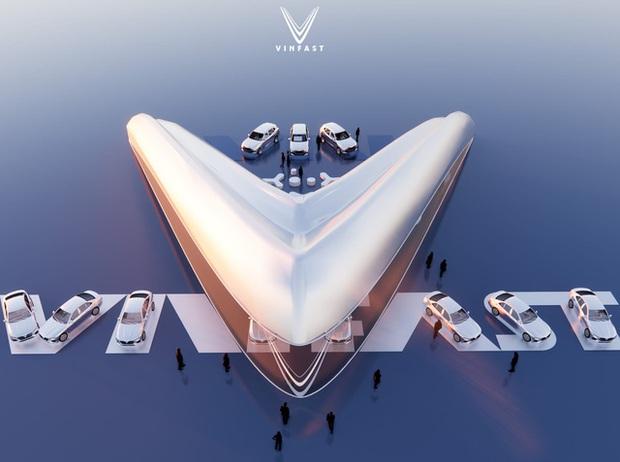 Xem trước showroom VinFast quốc tế: Đẹp mê ly, được vinh danh ở Quảng trường Thời đại Mỹ - Ảnh 2.