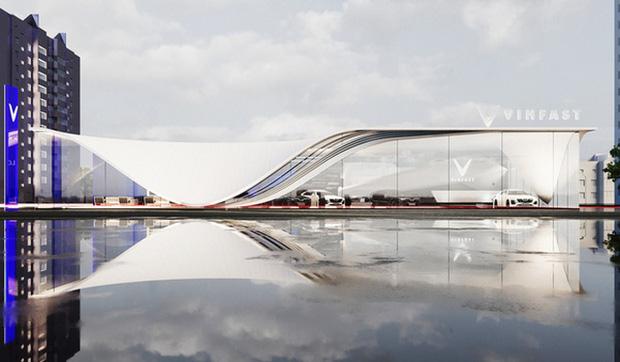 Xem trước showroom VinFast quốc tế: Đẹp mê ly, được vinh danh ở Quảng trường Thời đại Mỹ - Ảnh 13.