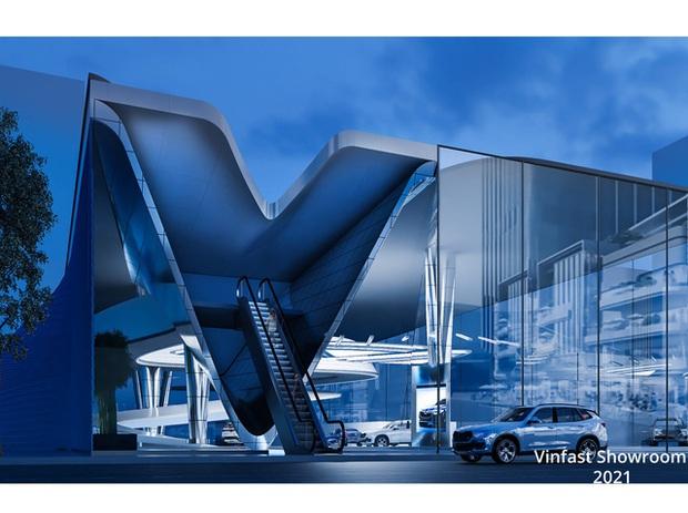 Xem trước showroom VinFast quốc tế: Đẹp mê ly, được vinh danh ở Quảng trường Thời đại Mỹ - Ảnh 22.
