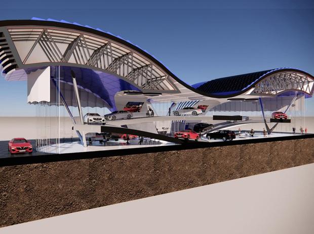 Xem trước showroom VinFast quốc tế: Đẹp mê ly, được vinh danh ở Quảng trường Thời đại Mỹ - Ảnh 37.