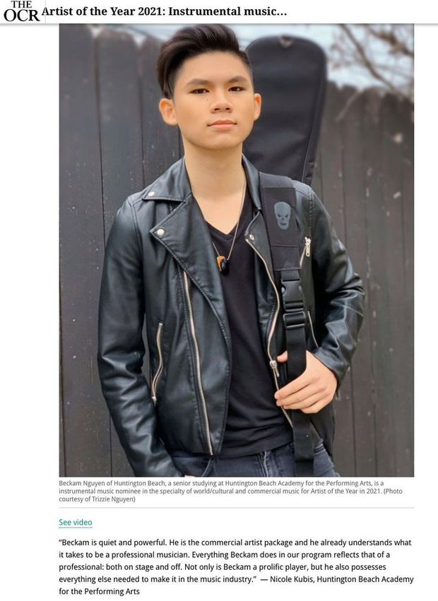Con trai cả nhà Bằng Kiều: Được mệnh danh thần đồng âm nhạc, thi đỗ trường hàng đầu nước Mỹ với học phí cả tỷ đồng - Ảnh 3.
