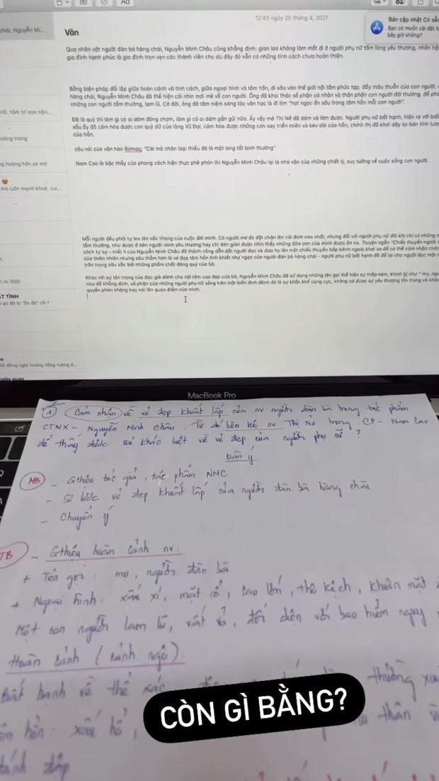 Chữ viết tay của Phương Mỹ Chi xấu hay đẹp? - Ảnh 2.