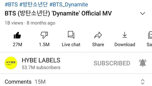 BTS chuẩn bị bỏ túi MV tỷ view thứ 4, Dynamite lập kỷ lục YouTube bất bại, BLACKPINK cứ coi chừng đấy! - Ảnh 5.