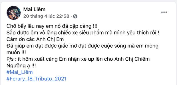 Chân dung cô gái trẻ vừa sắm Ferrari F8 Tributo tại Việt Nam: Từng sở hữu 2 chiếc Mercedes bạc tỷ, sắm cả biệt phủ cho bố mẹ - Ảnh 3.