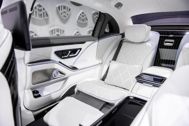 Biệt thự di động Mercedes-Maybach S 680 2021 sắp về Việt Nam: Giá khoảng 17 tỷ, nội thất xa hoa, có tính năng như trên Rolls-Royce - Ảnh 7.
