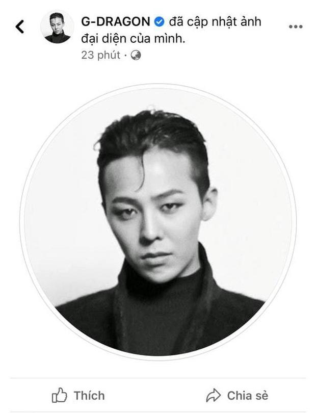 BIGBANG đổi ảnh đủ 5 người, GD thay avatar mới làm fan 99% tin hè này comeback làm Kpop nổ tung! - Ảnh 6.