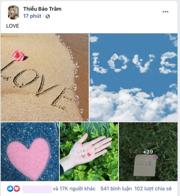Thiều Bảo Trâm đăng một lèo 43 tấm ảnh Love ngay sau khi Sơn Tùng vừa thổ lộ yêu vào khổ lắm - Ảnh 1.