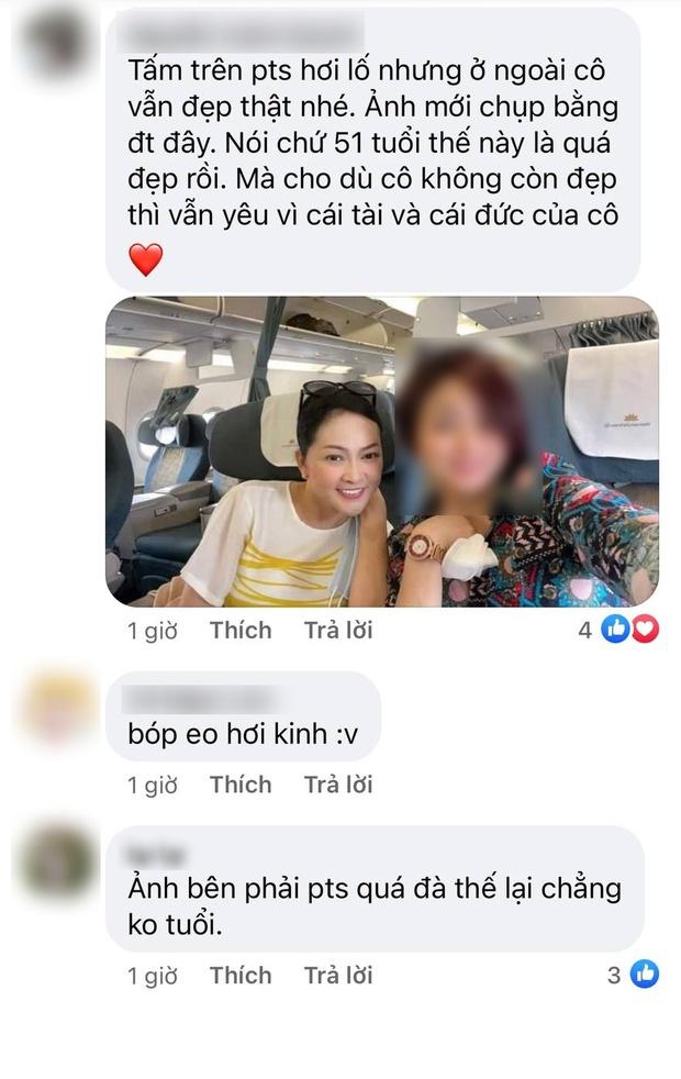 NS Như Quỳnh tuổi 51 mà trong ảnh đẹp như gái đôi mươi, lập tức bị soi photoshop quá đà, còn bị netizen tung ảnh thật để làm rõ? - Ảnh 5.
