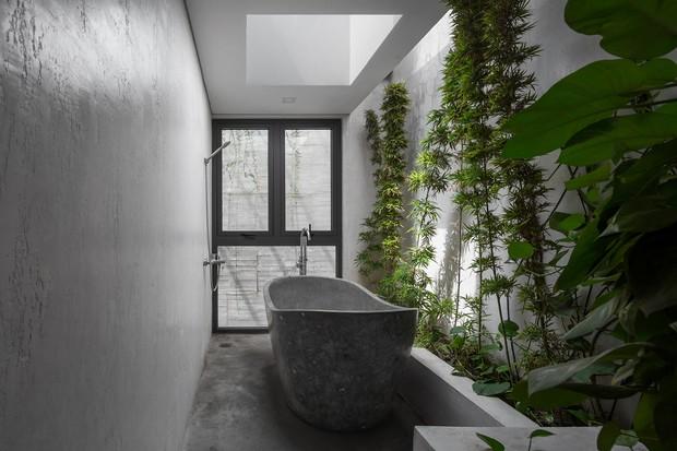 Xây nhà 2,5 tỷ với vật liệu hoàn thiện từ 100% bê tông, cặp vợ chồng khiến người bạn nước ngoài thích thú phải thuê ngay một phòng - Ảnh 14.