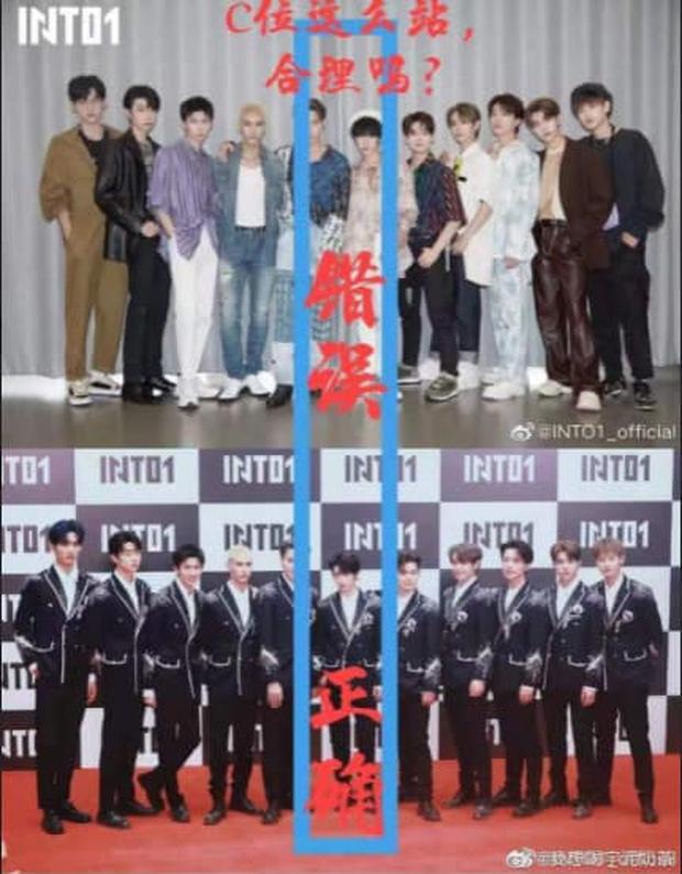 Debut chưa được 1 ngày, fan Center Sáng Tạo Doanh 4 đã vùng lên vì idol đứng lệch khỏi vị trí trung tâm - Ảnh 3.