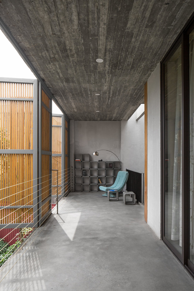 Xây nhà 2,5 tỷ với vật liệu hoàn thiện từ 100% bê tông, cặp vợ chồng khiến người bạn nước ngoài thích thú phải thuê ngay một phòng - Ảnh 15.