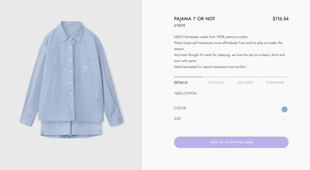 Jisoo diện bộ pyjama gần 3 triệu, chị em thích thì sắm mấy bộ tương tự giá chỉ vài trăm này - Ảnh 2.