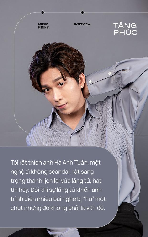 Tăng Phúc: Người nước ngoài hát nhạc Việt thì chẳng nghe ai nói gì, còn mình hát nhạc người ta thì dân mình lại tự chửi nhau - Ảnh 9.