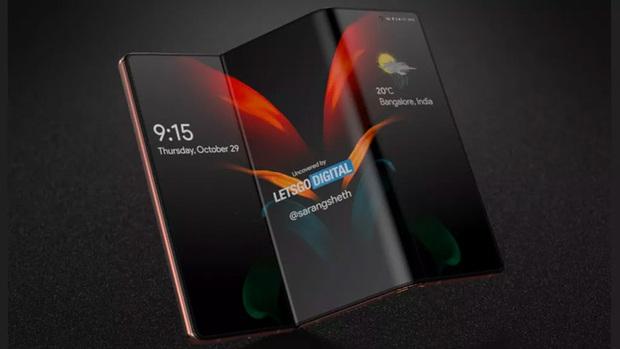 Samsung Galaxy Z Fold Tab lộ thiết kế, thông số, giá bán và ngày ra mắt - Ảnh 1.