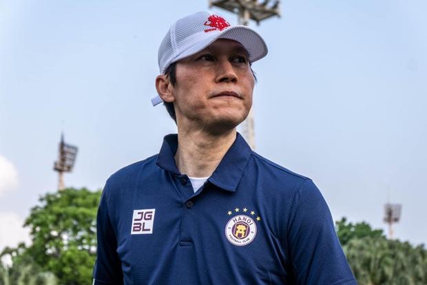 Tân HLV Hà Nội FC đã gặp HLV Park Hang-seo và nhận được nhiều lời khuyên - Ảnh 1.