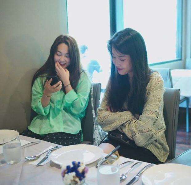 MXH Hàn dậy sóng vì bộ ảnh chụp lén IU đẹp như mơ từ bàn tay của 1 fan đặc biệt, netizen ngã ngửa khi biết danh tính - Ảnh 8.