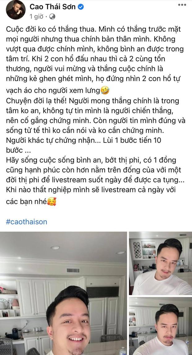 """Drama chưa dứt: Cao Thái Sơn đăng status """"cà khịa"""" sau khi bị tung bằng chứng, Nathan Lee tuyên bố luôn 11h bóc phốt - Ảnh 2."""