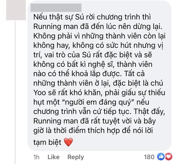 Fan đồng loạt đòi nghỉ xem Running Man khi hay tin Kwang Soo rời chương trình, show 11 năm đã đến lúc dừng lại? - Ảnh 3.