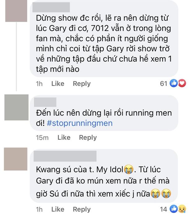Fan đồng loạt đòi nghỉ xem Running Man khi hay tin Kwang Soo rời chương trình, show 11 năm đã đến lúc dừng lại? - Ảnh 2.