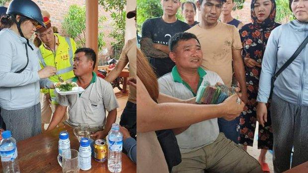 Clip: Xe tải chở dưa lật, dân Quảng Bình mua hàng chục triệu đồng tiền dưa hỗ trợ tài xế - Ảnh 2.