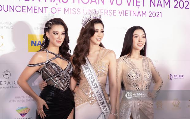 Quân đoàn Hoa hậu, Á hậu đổ bộ họp báo HHHV: HHen Niê body hot đến mức át cả Khánh Vân, dàn mỹ nhân thi nhau hở cháy mắt - Ảnh 6.