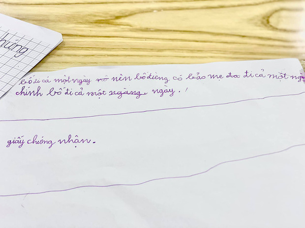 Bố vắng nhà một ngày, hai con trai diễn viên Đan Lê liền rủ nhau viết giấy chứng nhận có một không hai, nội dung khiến dân tình khen bố mẹ dạy con trai quá khéo - Ảnh 5.