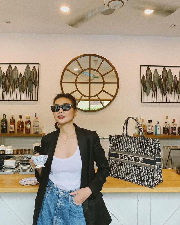 Phanh Lee mua túi gần trăm triệu nhưng họa tiết chẳng khác gì mặt ghế trăm nghìn đồng - Ảnh 5.