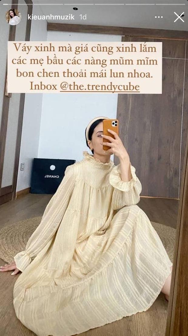 Học ca nương Kiều Anh tậu váy suông oversize giá chỉ vài trăm, mặc mát mà xinh như công chúa - Ảnh 2.