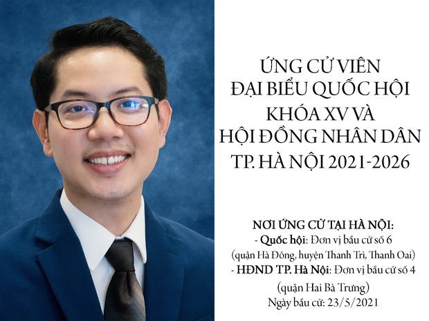 Lương Thế Huy - Người đấu tranh vì cộng đồng LGBT tự ứng cử đại biểu Quốc hội và HĐND Hà Nội 2021-2026 - Ảnh 2.